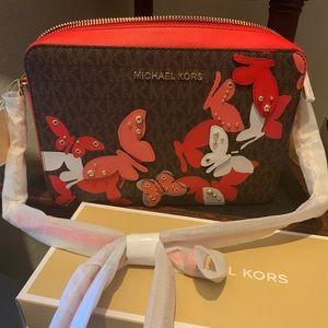 Michael Kors new arrival butterflies crossbody